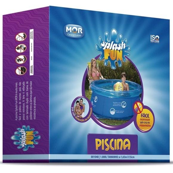 PISCINA SPLASH FUN 1000L 1,65MX55CM